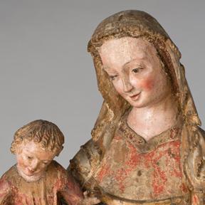 Erlacher Madonna (um 1320), Dom Museum Wien, Foto: Deinhardstein, Rastl.