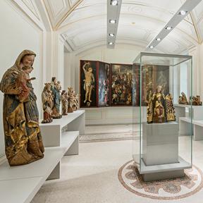 """Ein Blick in die sogenannte """"Kapelle"""" des Dom Museum Wien. Foto: Hertha Hurnaus"""