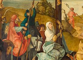 Ober-Sankt-Veiter Altar 1504 od. 05-1507 Hans Schäufelein (* 1482 od. 83 wahrscheinlich Nürnberg; † 1539 od. 40 Nördlingen) Diözesane Sammlung Leni Deinhardstein, Lisa Rastl, Dom Museum Wien