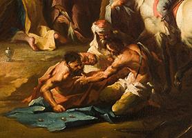 Kreuzigung Christi 1745-1749 Franz Anton Maulbertsch  (*1724 Langenargen am Bodensee, Württemberg; †1796 Wien) Diözesane Sammlung Leni Deinhardstein, Lisa Rastl, Dom Museum Wien