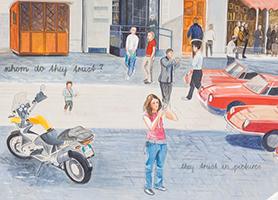 I trust in painting 2008 Johanna Kandl (* 1954 Wien) OM Contemporary Leni Deinhardstein, Lisa Rastl, Dom Museum Wien