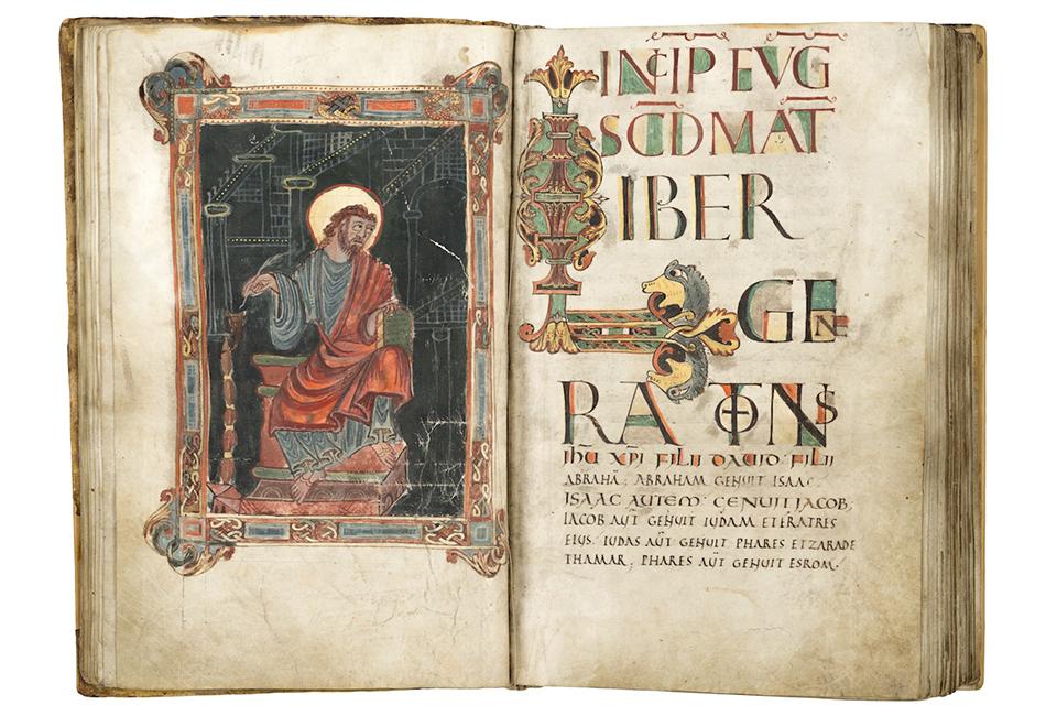 Karolingisches Evangeliar Spätes 9. Jahrhundert  Diözesane Sammlung Leni Deinhardstein, Lisa Rastl, Dom Museum Wien