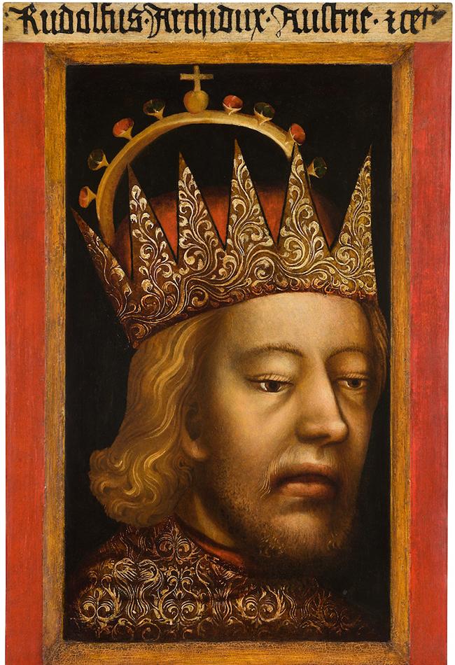 Porträt Herzog Rudolfs IV. um 1360 Prager Hofwerkstatt (?) Domschatz St. Stephan Leni Deinhardstein, Lisa Rastl, Dom Museum Wien