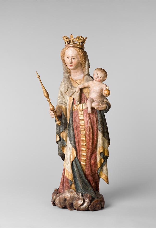 Maria mit dem Jesuskind Spätes 14. Jahrhundert  Diözesane Sammlung Leni Deinhardstein, Lisa Rastl, Dom Museum Wien