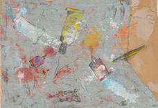 Tuben 1972 Oswald Oberhuber (* 1931 Meran, Südtirol, + 2020 Wien) Sammlung Otto Mauer Leni Deinhardstein, Lisa Rastl, Dom Museum Wien