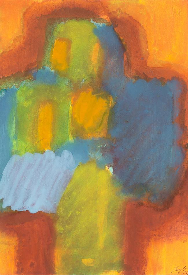 Büste 1958 Josef Mikl (*1929 Wien, + 2008 Wien) Sammlung Otto Mauer Leni Deinhardstein, Lisa Rastl, Dom Museum Wien