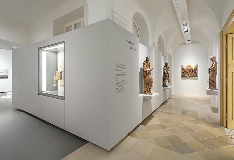 Die Dauerausstellung im Dom Museum Wien. Foto: Hertha Hurnaus