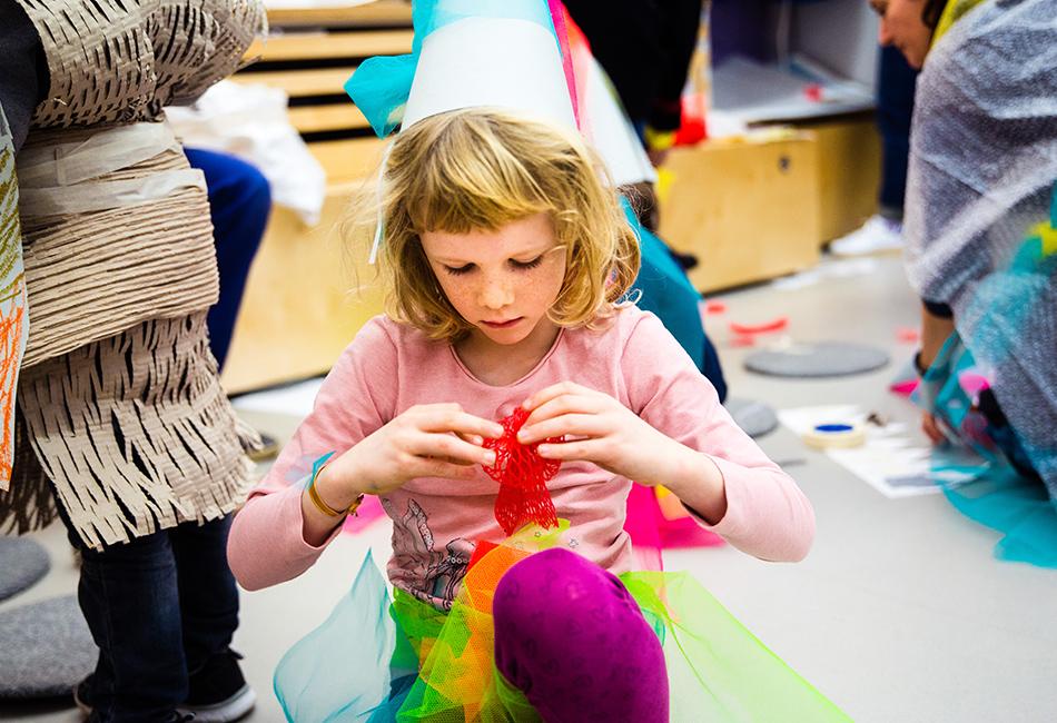 Kindergeburtstag feiern im Dom Museum Wien. Foto: Fabia Distefano