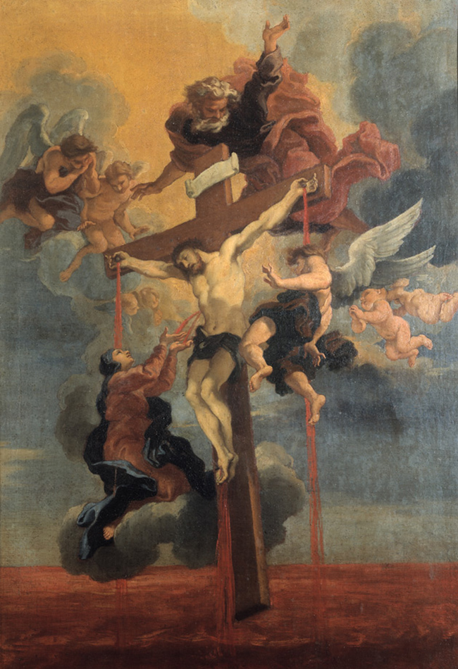 Guillaume Courtois, Blut Christi nach Gian Lorenzo Bernini, 17. Jh. Museo di Roma Foto: Sovrintendenza ai Beni Culturali, Rom