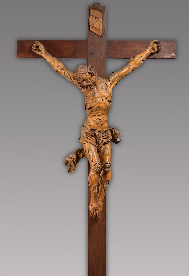 Unbekannter Künstler, Kruzifix, 1701-1715 Museum Schnütgen, Köln Foto: Wolfgang F. Meier