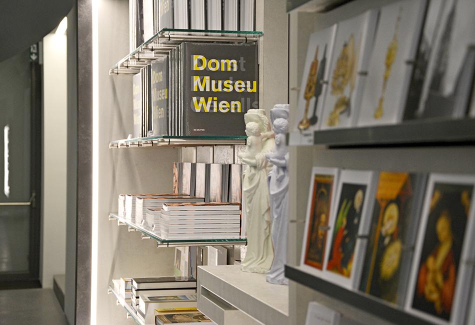Der Museumsshop im Dom Museum Wien.