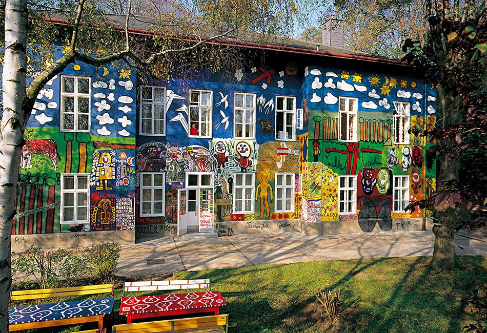 Das Haus der Künstler © museum gugging