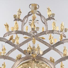 Reliquiar des heiligen Leopold (Detail), 1588. Dom Museum Wien Leihgabe der Pfarre St. Leopold, Wien Foto: Deinhardstein, Rastl