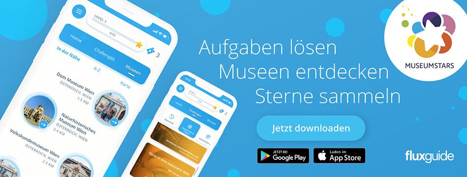 Die MuseumStars App.