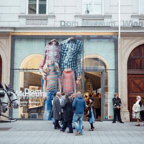 Die Fassade des Dom Museum Wien.<br /> Foto: Marlene Fröhlich, LuxundLumen.com