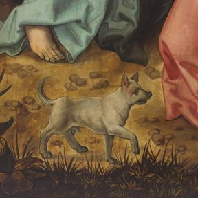 Hans Schäufelein, Ober St. Veiter Altar (Detail), 1504 od. 05-1507 Dom Museum Wien, Leihgabe des Erzbistums, Wien Foto: Leni Deinhardstein, Lisa Rastl
