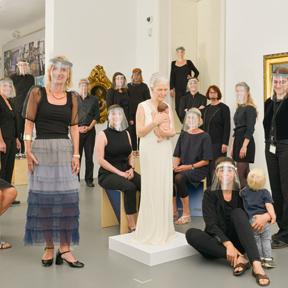 Katharina Mayer, Das Team des Dom Museum Wien, Juli 2020