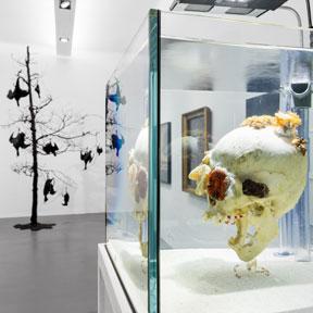 """Ausstellungsansicht """"Fragile Schöpfung"""", Dom Museum Wien 2020. Foto: Lena Deinhardstein"""