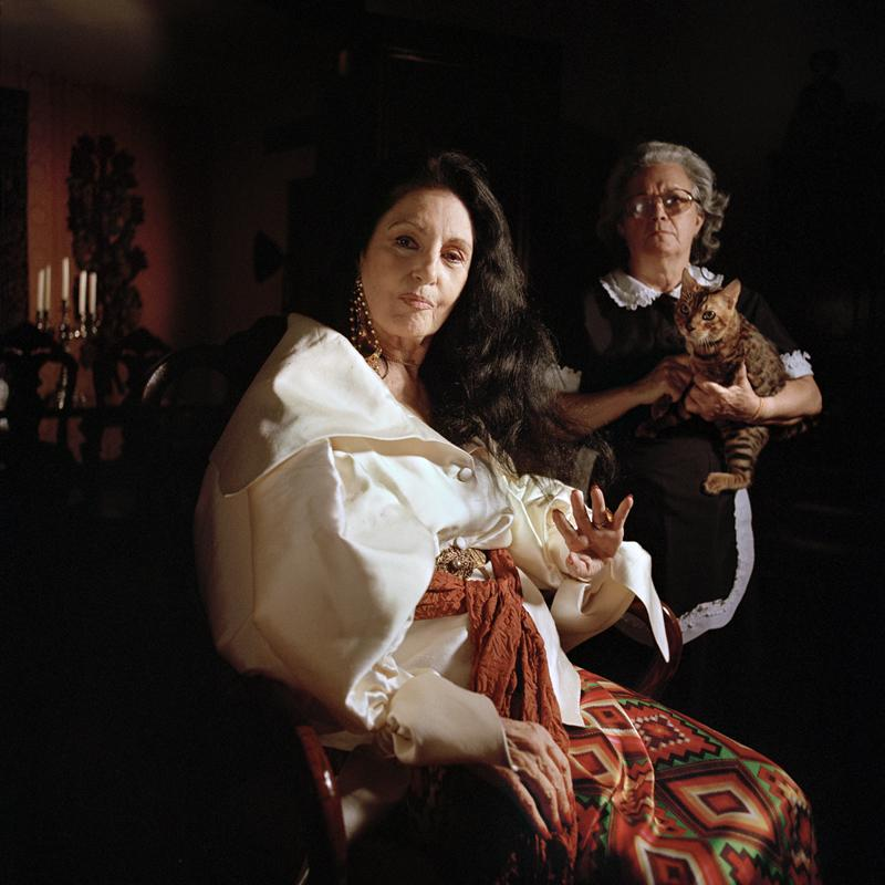 Lamia Maria Abillama, Carmen, 2007. Courtey Galerie Tanit, München. Foto: Lamia Maria Abillama
