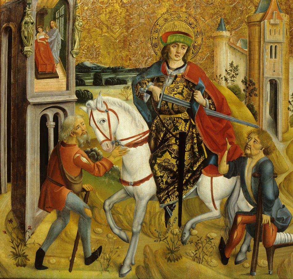 Legende der Mantelteilung und dem Traum des heiligen Martins, 16. Jh. Szépmuvészeti Múzeum / Museum of Fine Arts, 2021