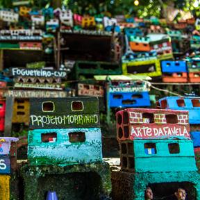Projeto Morrinho, Projeto Morrinho, seit 1997. Foto: Sabrina Mesquita / Project Morrinho